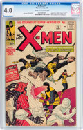 Silver Age (1956-1969):Superhero, X-Men #1 (Marvel, 1963) CGC VG 4.0 Cream to off-white pages....