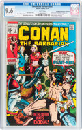 Bronze Age (1970-1979):Adventure, Conan the Barbarian #2 Don/Maggie Thompson Collection pedigree (Marvel, 1970) CGC NM+ 9.6 White pages....