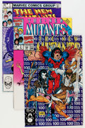 Modern Age (1980-Present):Superhero, The New Mutants #1-100 Near Complete Run Group (Marvel, 1983-91)Condition: Average NM....