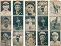 Baseball Cards:Sets, 1931 W517 Uncut 3-Card Strips Collection (5) with HoFers On Each. ...
