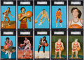 Basketball Cards:Sets, 1973 NBA Players Association Post Card High Grade Complete Set(41). ...