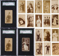Non-Sport Cards:Lots, 1880's N245 Sweet Caporal Plus Other Brands Actresses Card Collection (262). ...