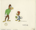 Animation Art:Limited Edition Cel, Woody Woodpecker and Buzz Buzzard Animation Production Cel #1361and Drawing Original Art, Group of 4 (Walter Lantz Production...(Total: 4 Items)
