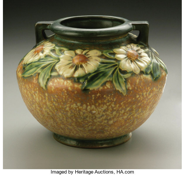 An American Pottery Jardiniere Roseville Designed C 1924 28 Lot