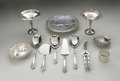 Other:American, AN ASSORTMENT OF SILVER SERVING PIECES. Various makers. Grouping ofserving pieces including two footed serving plates. ... (Total: 12Items)