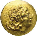 Ancients:Greek, Ancients: Pontic Kingdom. Mithradates VI. 120-63 B.C. AV stater (20mm). Tomis, time of the First Mithradatic War, 88-86 B.C.Diademed...