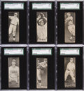 Baseball Cards:Lots, 1933 R306 Butter Cream Baseball SGC Graded Collection (6). ...