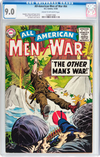 All-American Men of War #64 (DC, 1958) CGC VF/NM 9.0 Cream to off-white pages