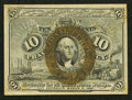 Fractional Currency:Second Issue, Fr. 1246 10¢ Second Issue Choice About New.. ...