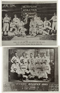 Baseball Collectibles:Photos, Collection of 8 Vintage White Sox Related Modern Prints With GeorgeBrace Stamp. ...