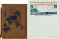 Baseball Collectibles:Others, 1913-14 Baseball World Tour Book & Official Letterhead.. ...