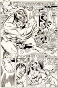 Original Comic Art:Panel Pages, Gil Kane and Dan Adkins Captain Marvel #21 Page 10 OriginalArt (Marvel, 1970)....