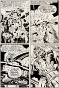 Original Comic Art:Panel Pages, Jack Kirby and Mike Royer The Eternals #16 page 16 OriginalArt (Marvel, 1977)....