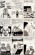 "Original Comic Art:Panel Pages, Daniel Clowes Eightball #1 ""Young Dan Pussey"" Page 4Original Art (Fantagraphics, 1989)...."