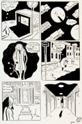 Original Comic Art:Panel Pages, Seth (Gregory Gallant) Palookaville #1 Page 12 Original Art(Drawn and Quarterly, 1991)....