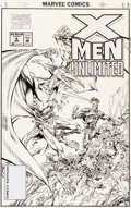 Original Comic Art:Covers, Kerry Gammill and Dan Panosian X-Men Unlimited #6 CoverOriginal Art (Marvel, 1994)....