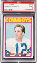 Football Cards:Singles (1970-Now), 1972 Topps Roger Staubach #200 PSA Mint 9 - Only Two Higher. ...