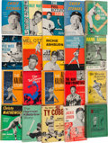 Baseball Collectibles:Publications, 1900-60's Baseball Biographies Book Collection Lot of 20....