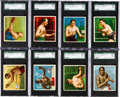 Boxing Cards:General, 1910 Mecca Cigarettes T218 and T220 Boxing Collection (32). ...