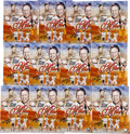 "Autographs:Photos, Circa 2000 Stan Musial Single Signed 11x14"" Photograph Collage Lotof 12...."