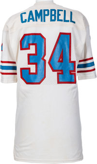 super popular 2d9b3 ff460 Circa 1983 Earl Campbell Game Worn Houston Oilers Jersey ...