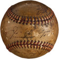 Autographs:Baseballs, 1940's Jimmie Foxx Single Signed Baseball. ...