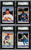 Baseball Cards:Sets, 1984 Fleer Baseball Update Complete Set (132). ...