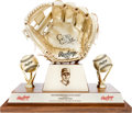 Baseball Collectibles:Others, 2002 Edgar Renteria Gold Glove Award....