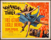 "Yolanda and the Thief (MGM, 1945). Half Sheet (22"" X 28"") Style A. Musical"
