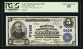 National Bank Notes:Wisconsin, Milwaukee, WI - $5 1902 Plain Back Fr. 607 The Marine NB Ch. # (M)5458. ...