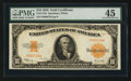 Large Size:Gold Certificates, Fr. 1173a $10 1922 Gold Certificate PMG Choice Extremely Fine 45.. ...