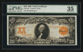 Large Size:Gold Certificates, Fr. 1181 $20 1906 Gold Certificate PMG Choice Very Fine 35.. ...