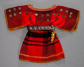 American Indian Art:Beadwork and Quillwork, A PLATEAU GIRL'S DRESS WITH BELT AND KNIFE SHEATH... (Total: 2 )
