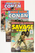 Magazines:Adventure, Savage Sword of Conan and Related Titles Short Box Group (Marvel, 1970s) Condition: Average FN....