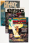 Magazines:Miscellaneous, Marvel Magazines and Others Short Box Group (Marvel, 1970s-80s)Condition: Average FN....