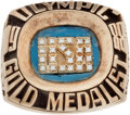Baseball Collectibles:Others, 1988 Mickey Morandini Olympic Gold Medalist Ring....