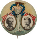 Political:Pinback Buttons (1896-present), Wilson & Marshall: Lady Liberty Jugate....