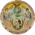 Political:Pinback Buttons (1896-present), William Jennings Bryan: Esoteric Anti-Expansion Button. ...