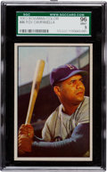 Baseball Cards:Singles (1950-1959), 1953 Bowman Color Roy Campanella #46 SGC 96 Mint 9 - Pop Two, NoneHigher. ...