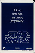 "Movie Posters:Science Fiction, Star Wars (20th Century Fox, 1977). One Sheet (27"" X 41"") Style BTeaser. Science Fiction.. ..."