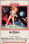 """Movie Posters:Science Fiction, Barbarella (Paramount, 1968). Poster (40"""" X 60""""). Science Fiction....."""
