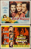 "Movie Posters:Adventure, Bride of Vengeance & Other Lot (Paramount, 1949). Half Sheets(2) (22"" X 28"") Style B. Adventure.. ... (Total: 2 Items)"