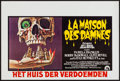 "Movie Posters:Horror, The Legend of Hell House (20th Century Fox, 1973). Belgian (21.5"" X 14.25""). Horror.. ..."