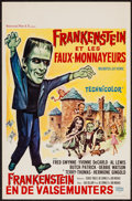 """Movie Posters:Comedy, Munster, Go Home (Universal, 1966). Belgian (13.25"""" X 21""""). Comedy.. ..."""