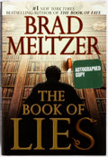 Books:Mystery & Detective Fiction, Brad Meltzer. SIGNED. The Book of Lies. New York: GrandCentral, 2008. First edition. Signed at the title page. Publ...
