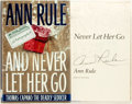 Books:Mystery & Detective Fiction, Anne Rule. SIGNED. And Never Let Her Go. New York: Simon andSchuster, [1999]. First edition. Signed at the title pa...