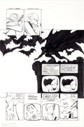 Original Comic Art:Panel Pages, Frank Miller and Klaus Janson Batman: The Dark Knight Returns #2 Batman Page 3 Original Art (DC, 1986)....