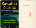 Books:Literature 1900-up, James A. Michener and A. Grove Day. SIGNED. Rascals in Paradise. New York: Random House, 1957. First edition. Signed...
