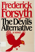 Books:Literature 1900-up, Frederick Forsyth. INSCRIBED. The Devil's Alternative. NewYork: Viking, [1980]. First edition. Inscribed by the aut...