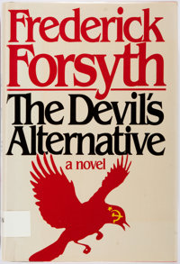 Frederick Forsyth. INSCRIBED. The Devil's Alternative. New York: Viking, [1980]. First edition